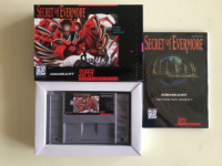 16Bit Giochi ** Segreto di Evermore (USA Versione!! Box + Manuale + Cartuccia!!)-in Offerte sui giochi da Elettronica di consumo su