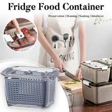 Кухонный пластиковый контейнер для хранения пищевых продуктов