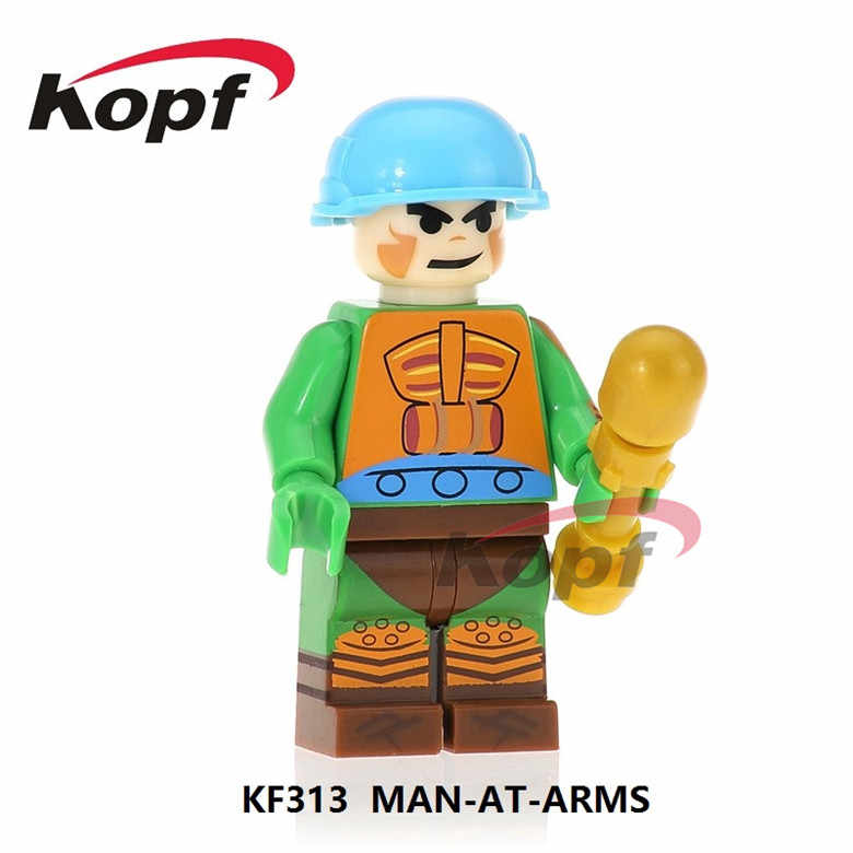 KF8010 Single Dijual Membangun Blok Trj-Klops Ram-Man Man-AT-Arms Faker Sorcerss Dia- man Action Batu Bata Angka Mainan Anak