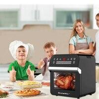 BioloMix 12L 1600W Air friteuse four grille-pain rôtissoire et déshydrateur avec LED écran tactile numérique, 16-en-1 four à poser 4