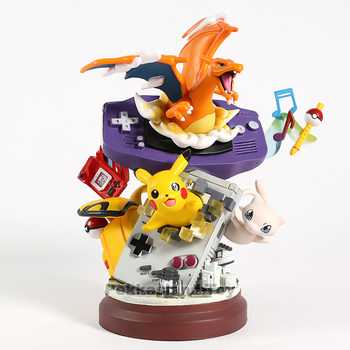 Anime Cartoon Monsters Charizard Mew PVC Statue Figure Collectible Model Toy tokyo mew mew omnibus 3