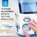 Waterpulse V300G Monddouche 5pcs Tips Dental elektrische Water Flosser 800ml Mondhygiëne Tanden Bleken Water Flossen V300