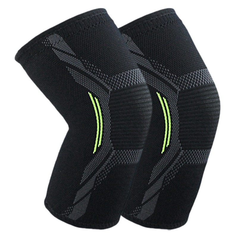 Breathable Basketball Football Sports Kneepad High Elastic Volleyball Knee Pads Brace Training Knee Support Protect L
