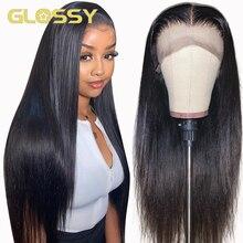Perucas de cabelo humano da parte dianteira do laço perucas 5x5 do fechamento do laço perucas transparentes do laço para as mulheres 13x4 peruca frontal do laço 30 Polegada perucas