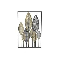 Nordic kute żelazne liście miękki na ścianę dekoracja ścienna wisząca dekoracja ścienna Metal nowoczesny minimalistyczny salon kreatywny