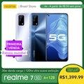 Смартфон realme 7 5G 6 ГБ ОЗУ 128 Гб ПЗУ-30 Вт Дротика зарядка | Массивный аккумулятор 5000 мАч | Ультра гладкий дисплей 120 Гц