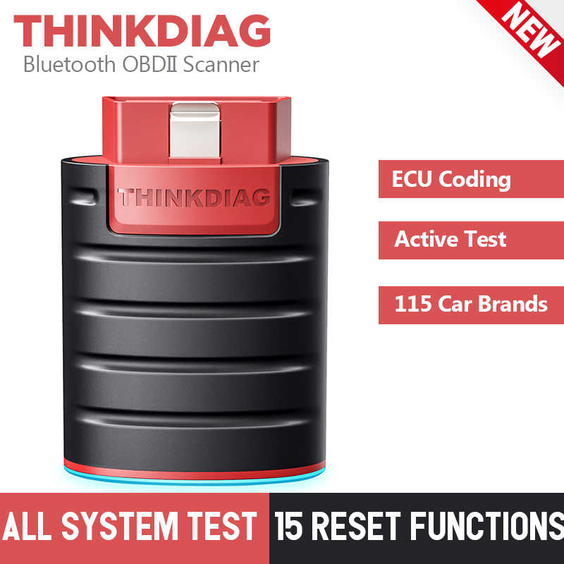 Thinkdiag Bluetooth Diagnose Scanner Volledige Systemen Diagnostic Tool Ecu Codering Actieve Test Obd2 Scanner Pk X431 Easydiag 3.0