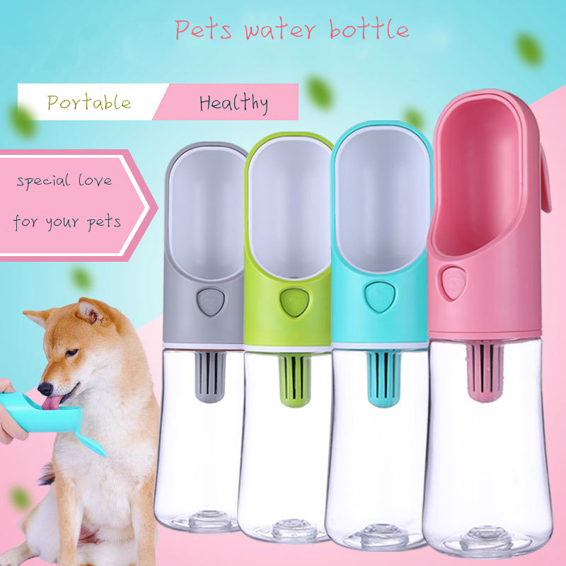 Portable Pet Dog Water Bottle For Small Large Dogs Pet Product Travel Puppy Drinking Bowl Outdoor Puppy Bowl