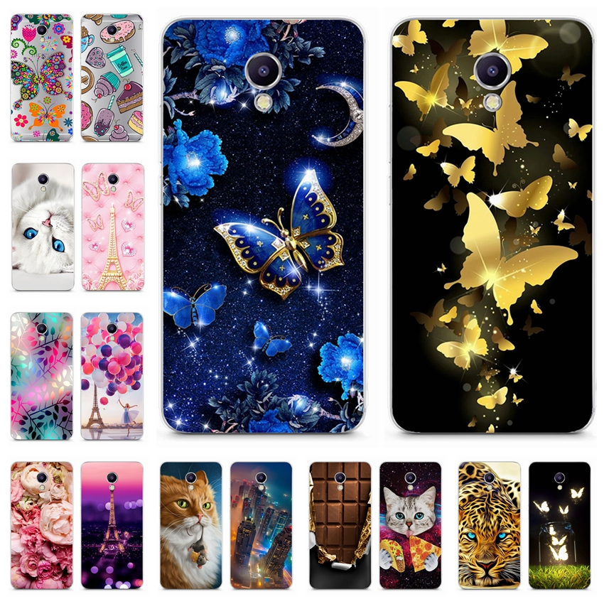 For Meizu M5C M710H A5 Case Soft TPU Silicone Cover For Meizu 5C A5 Cartoon Phone Case For Meizu A5 M 5C Full Protective Coque image