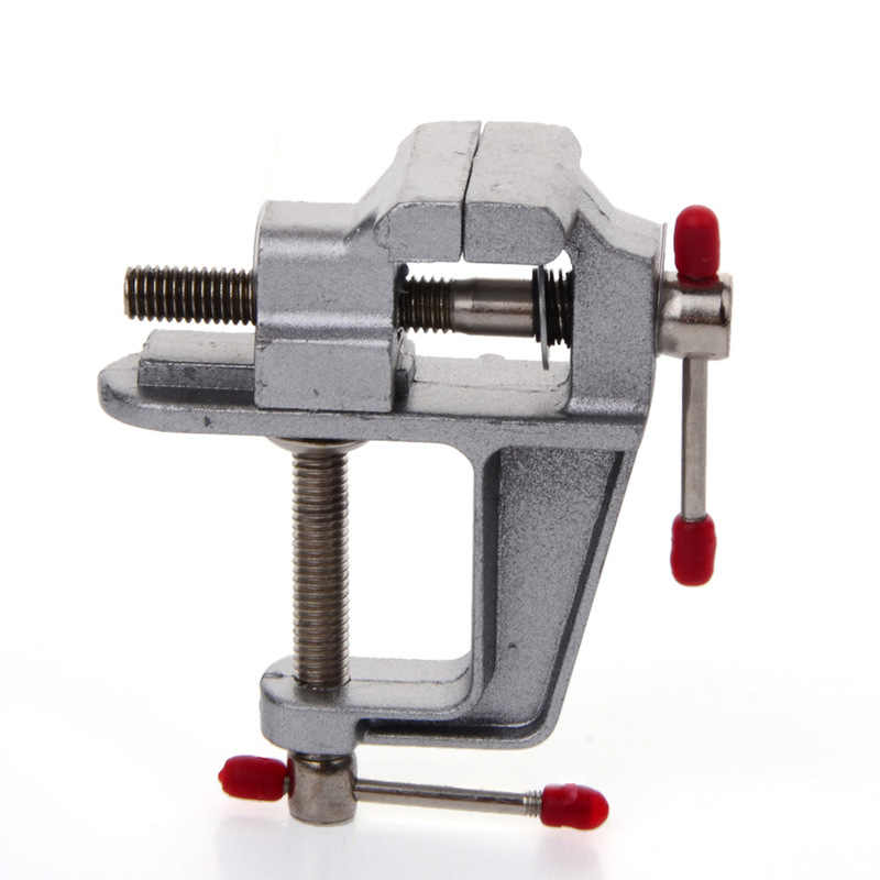 Nihlsfen Mini /étau de Table en Aluminium Table Banc Pince /étau Banc /étau Table vis /étau Bricolage Artisanat Moule Fixe Outil de r/éparation