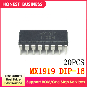 20 шт./лот MX1919 MX 1919 DIP-16 в наличии