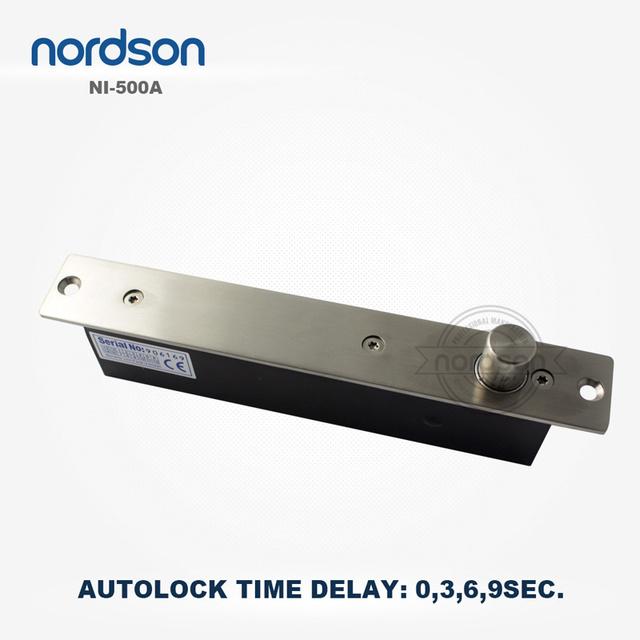 Nordson Original DC12V Autolock Time Delay Electric Bolt Lock With SignalOutput 2000kg