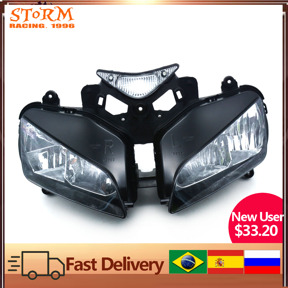 Motorcycle Head Light Headlamp For Honda CBR1000RR CBR 1000RR CBR1000 2004-2007 2004 2005 2006 2007 Street Bike
