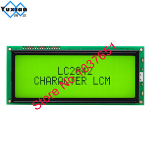 Image 5 - 1 adet büyük büyük karakter lcd ekran paneli 2004 20*4 yeşil mavi 146*62.5mm HD44780 LC2042 AC204B SBS02004A0 kaliteli