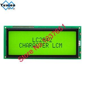 Image 5 - 1 pièce grand écran LCD de caractère 2004 20*4 vert bleu 146*62.5mm HD44780 LC2042 AC204B SBS02004A0 bonne qualité