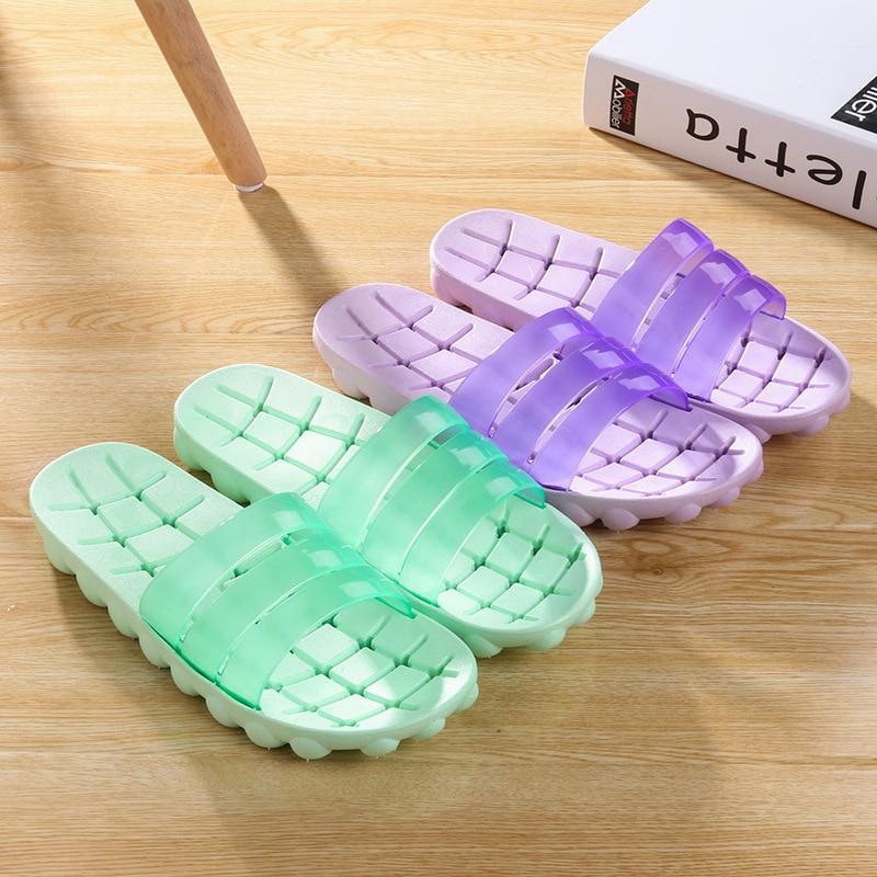 2019 neue Stil Paare FRAUEN Hausschuhe Indoor Bad Undichte Anti-slip Tragbare Komfortable Sandalen Anpassbare