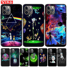 Funny Cartoon Comic Rick and Morty Soft Silicone Phone Case For