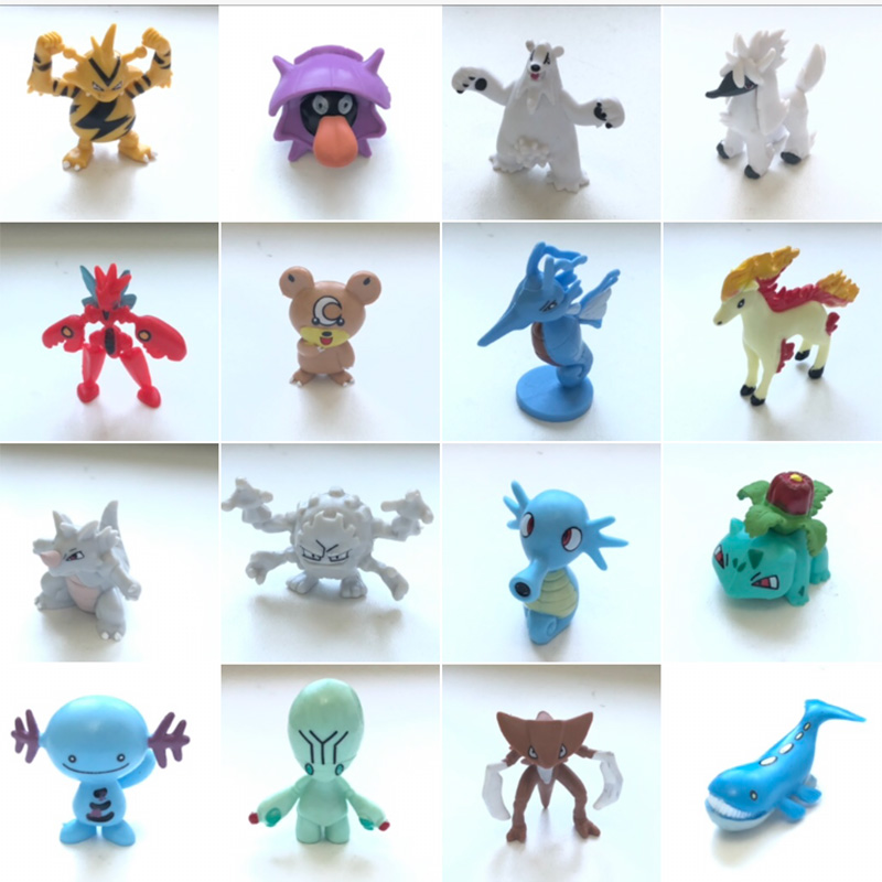 Set (3) New Arrival  4cm Anime Action Toy Figures Collection Model Toys KEN HU STORE
