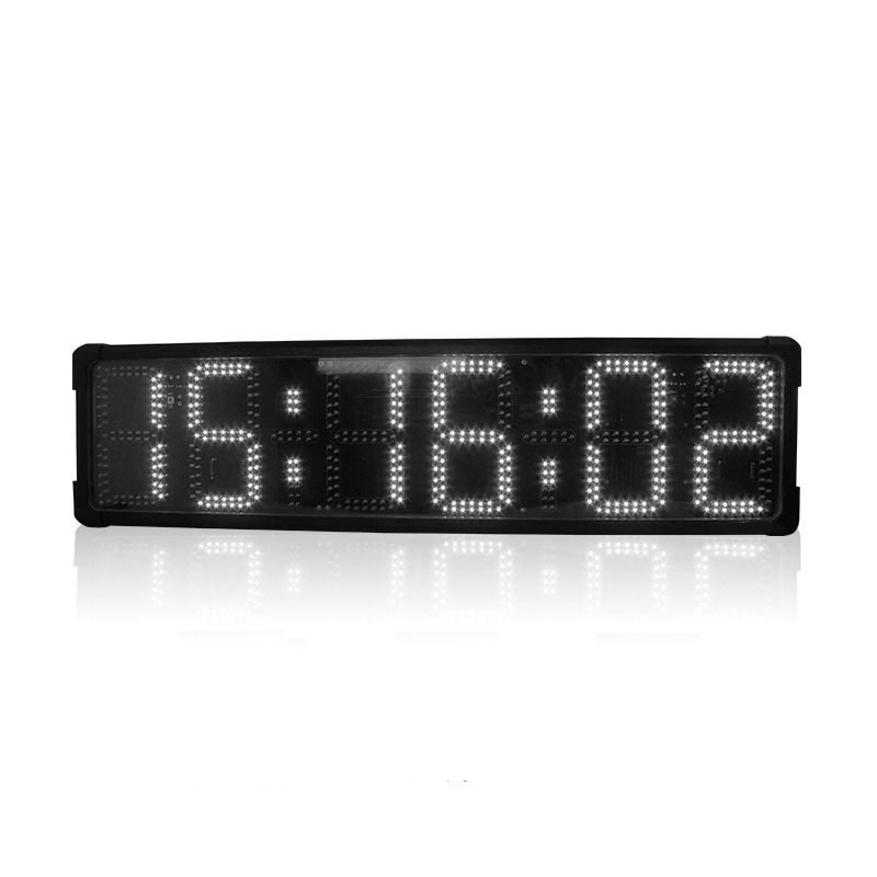 8'' LED Display Double-sided Countdown Timer Large Race Timing Clock Digital Stopwatch Timer