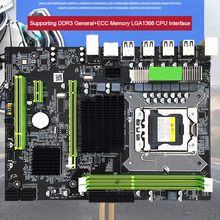Accessories DDR3 Memory LGA 1366 Stable For Intel X58 Socket Replacement SATAII CPU Motherboard Desktop Computer Controller