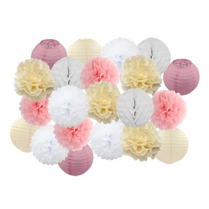 21 sztuk/zestaw Baby Shower Party Favor do zawieszenia z papieru rzemiosła dzieci chłopiec dziewczyna dekoracje urodzinowe 8