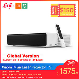 Xiaomi Laser-Projector-Tv DTS Dolby Video Mijia Full-Hd Original 1080 3D Support 4K 150-Inches