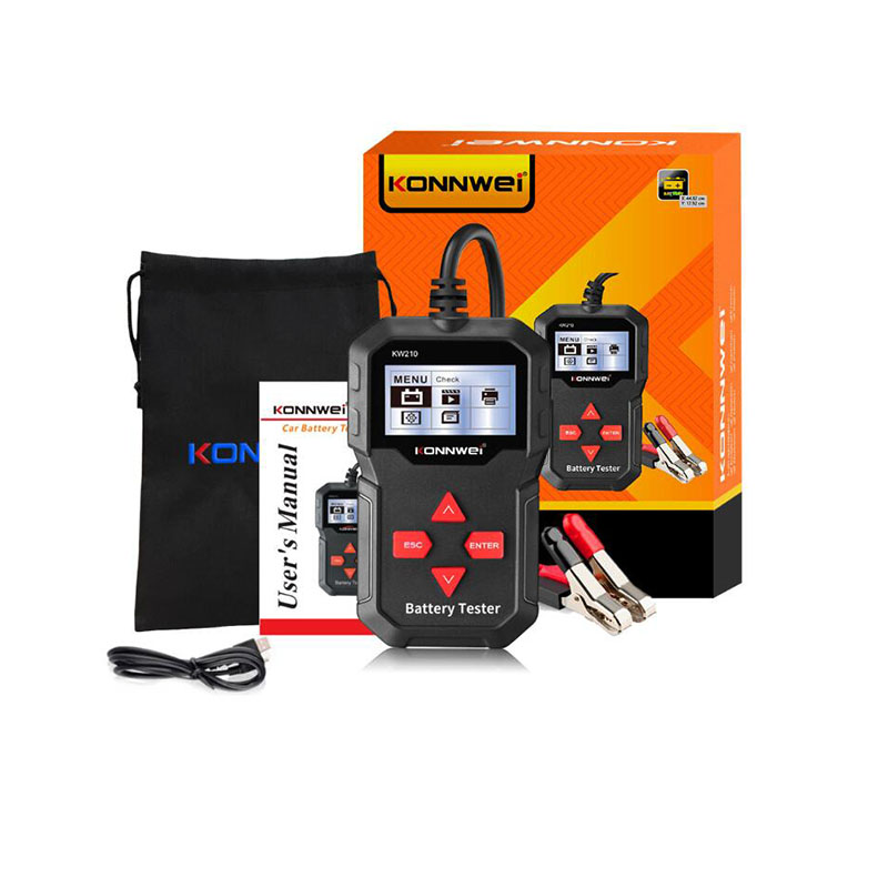 1 Pcs Car Battery Tester 12V 100 to 2000CCA 12 Volts Battery tools for the Car Quick Cranking Charging Diagnostic