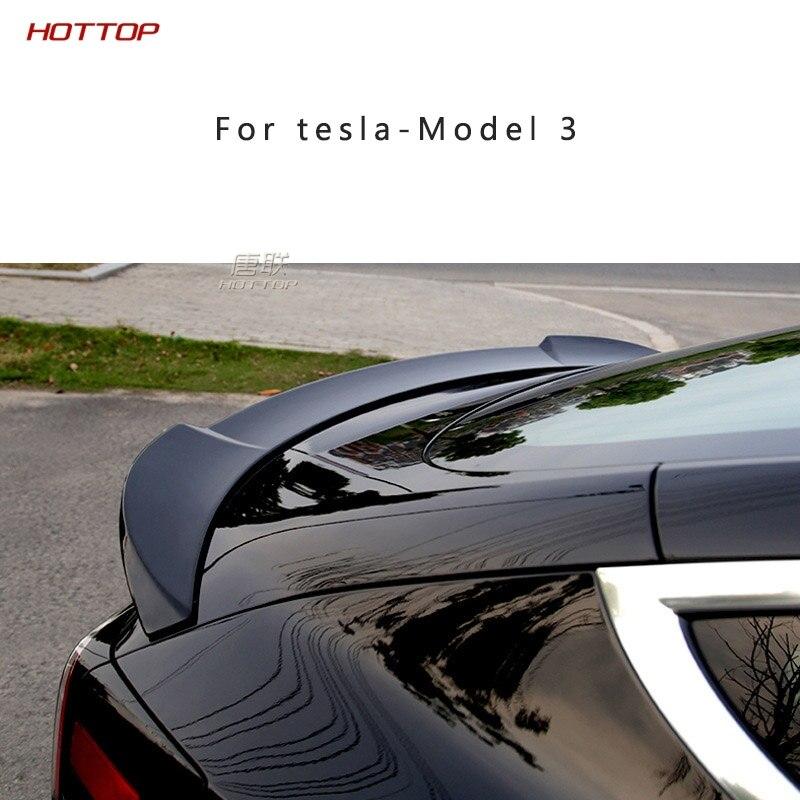 ABS задний спойлер заднего багажника, крыла крышка украшения для Tesla модель 3 2018 2019