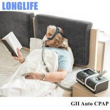Doctodd GII APAP E 20A O/E 20AJ אוטומטי הנשמה CPAP אנטי נחירה דום נשימה בשינה OSAHS OSAS APAP AutoCPAP עם משלוח מסכה צינור