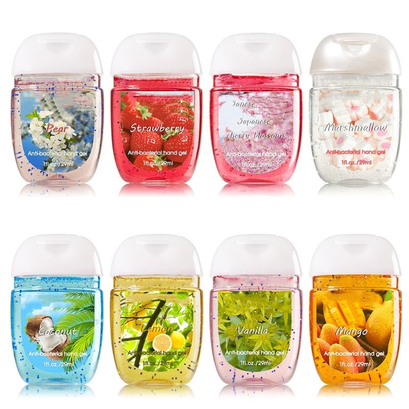 In Stock ! 10PCS Outdoor Cleansing Fluid Travel Portable Mini Hand Sanitizer Disposable Random Color