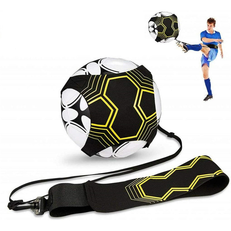 Adult Youth Football Training Device Ball Net Primary Secondary School Students Soccer Goal Training Single Round Banda Hot Sale