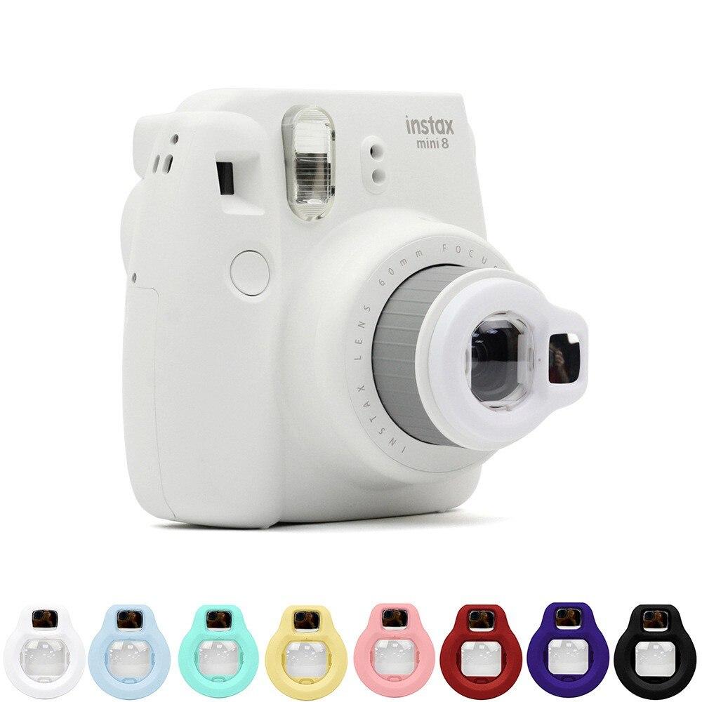 FUJIFILM Instax Mini 8 película Cámara Selfie retrato espejo Primer plano lente Selfie para cámara instantánea Vidrio templado para Huawei honor 20 lite protector de pantalla para película de vidrio honor 20 lite