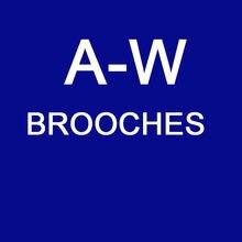 Broches de moda de strass personalizados para mulher A-W