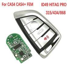 Datong coche del mundo de llave de control remoto para BMW 1 3 5 7 Serie X1 X3 X5 X6 X7 F CAS4 CAS4 + FEM 2011-2017 PCF7953 reemplazar sin llave de coche clave