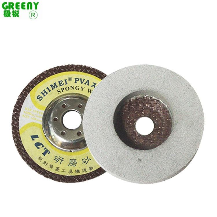 Lijia Soil Marble Polishing Round 120 #220 # PVA Knife Sharpening Stone Li Yan Grinding Wheel Sponge Wheel Glass Stone Material