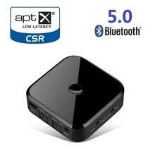 TX16 Bluetooth 5,0 HD аудио передатчик приемник поддерживает 3,5 мм AUX SPDIF цифровой для ПК ТВ Беспроводной адаптер