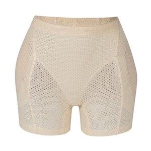 Image 2 - Burvogue Body Shaper Panties Women Breathable Underwear Butt Lifter Panties Enhancer Butt Pad Hip Pants Brief Control Panties