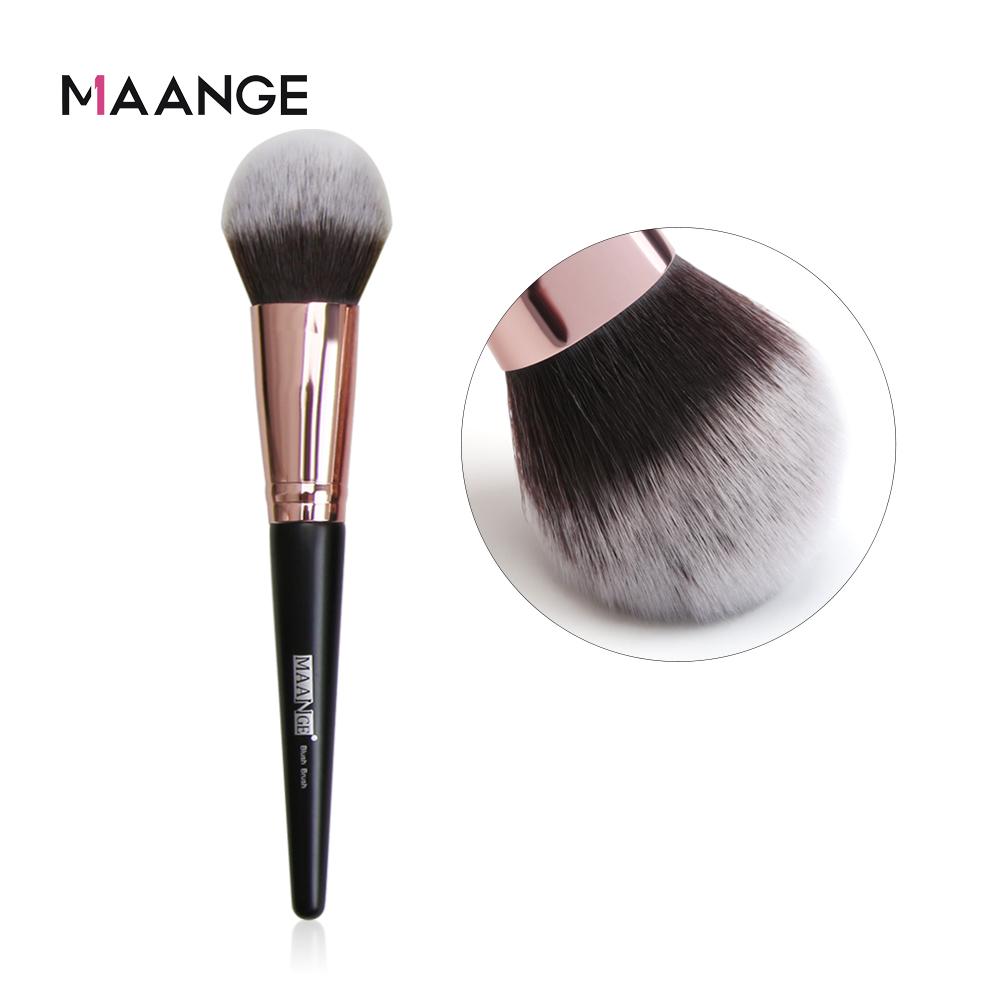 MAANEG 1pc Soft Powder Big Blush  Foundation Lady Makeup Brush Cosmetic Tool  Make Up Cosmetic Large Single Brush Facial