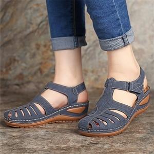 Summer Women Leather Vintage S