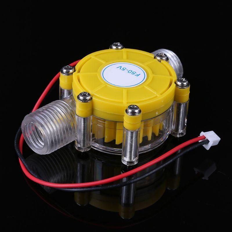 de agua mini turbina conversao fluxo hidro gerador 05