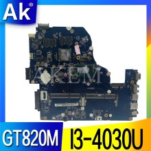 Z5WAH LA-B162P/LA-B991P NBMLC11004 NB MLC11.004 placa base para acer aspire E1-572G E5-571 E5-571G placa base I3-4030U CPU 820M(China)