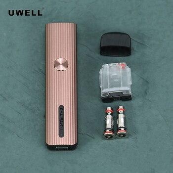 Uwell – Kit de Cigarettes électroniques Caliburn G, cartouches de 2ml, 690mAh