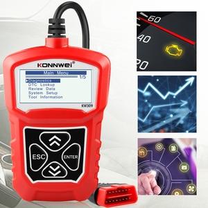 Image 4 - Konnwei KW309 OBD2 Engine Code Reader Automotive Auto Diagnostische Hulpmiddelen Scanner Apparaat Eobd Autoscanner Beter dan ELM327