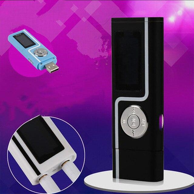 Портативный mp3 плеер с USB и ЖК дисплеем, компактный спортивный плеер с поддержкой карт Micro SD, TF