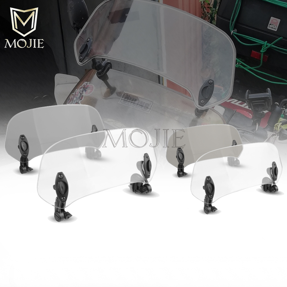 Motorcycle Windshield Extension Spoiler Windscreen Air Deflector For Benelli TNT BN 125 <font><b>600</b></font> <font><b>300</b></font> 302 250 Leoncino 500 TNT600 image