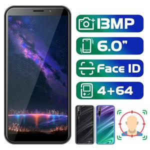 Note8 Pro 6.0 inch 18:9 Screen Face ID Mobile Phone 4G RAM 64G ROM MTK Android Smartphones 13MP Camera celulares Unlocked Phones