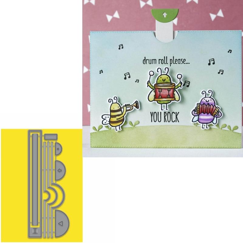 Pop-up Surprise Cards Metal Cutting Dies for DIY Scrapbooking Paper Crafts