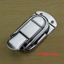 Hasp Latch Suitcases Buckle Furniture-Hardware Jewelry Decorative Clasp Drawer Wood-Box