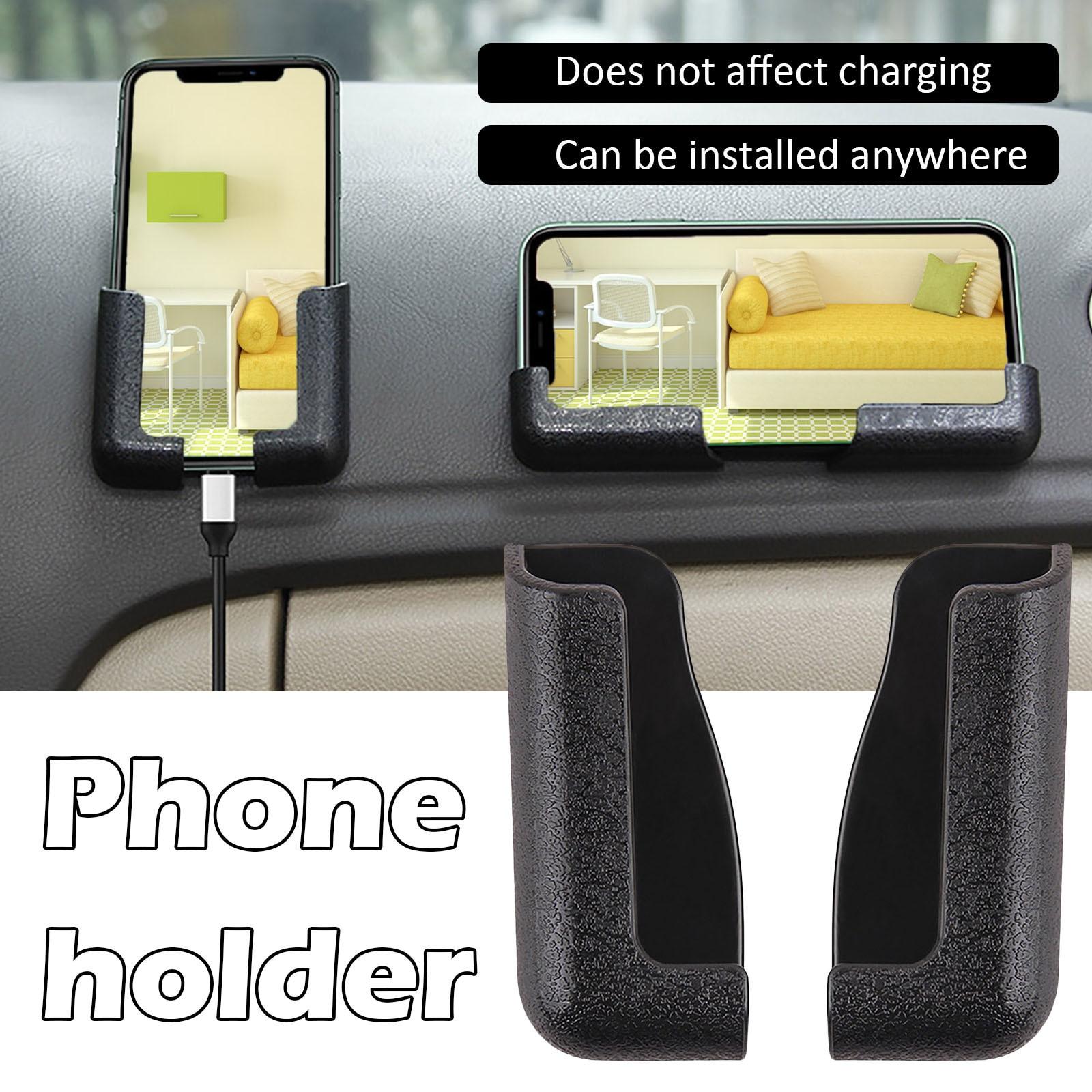Portable Mobile phone bracket Self-adhesive Adjustable Anywhere Car Cell Phone Mount Holder Support, Navigator bracket, Reusable