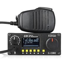 2019 NEUE Xiegu G1M HF Transceiver Quad Band QRP SDR Kurze Welle 5W SSB CW AW 0,5  30MHz Tragbare Mobile Radio Amateur Geben Ebene